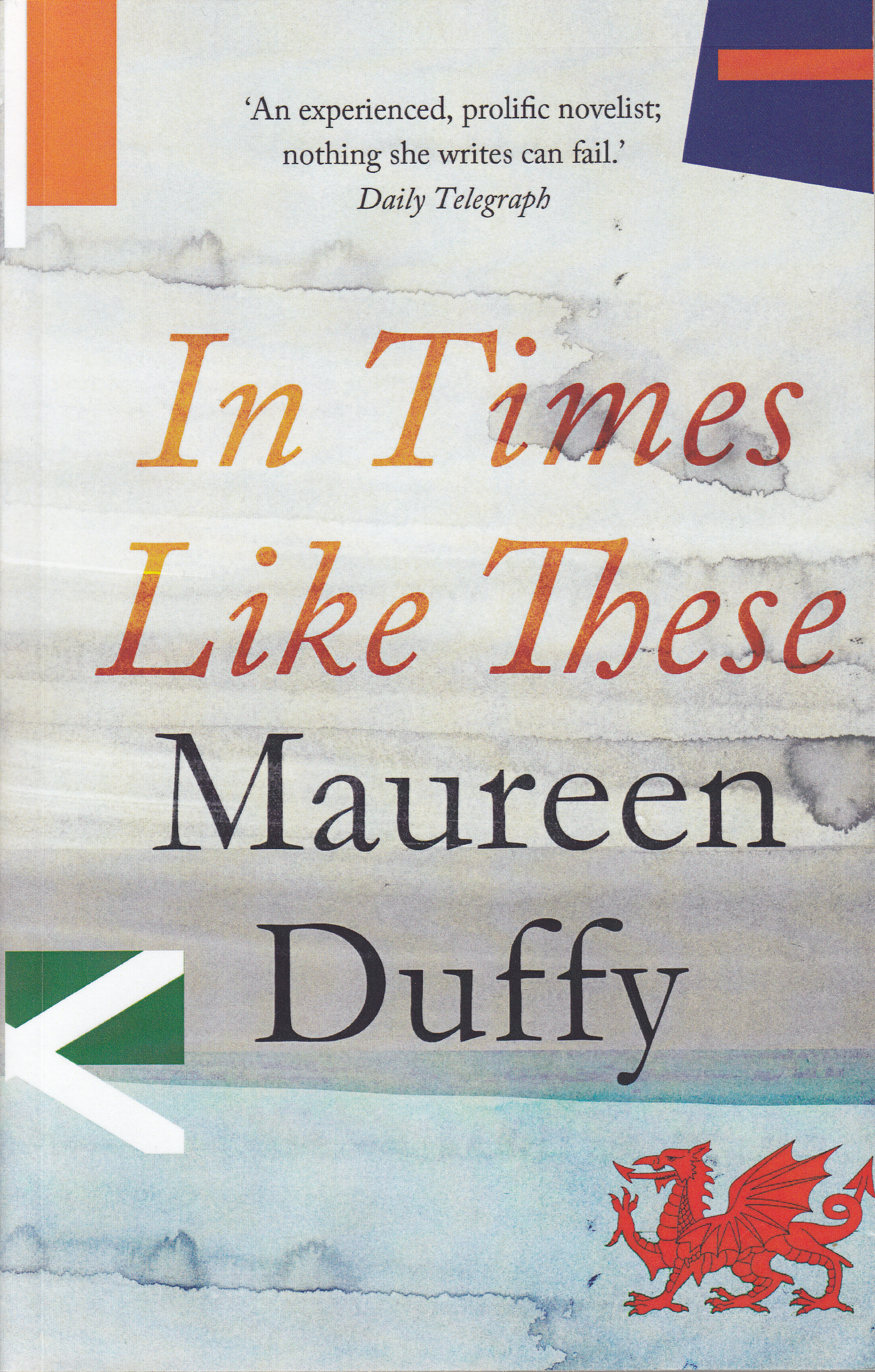 Cover of Maureen Duffy's 2013 novel, 'In Times Like These'